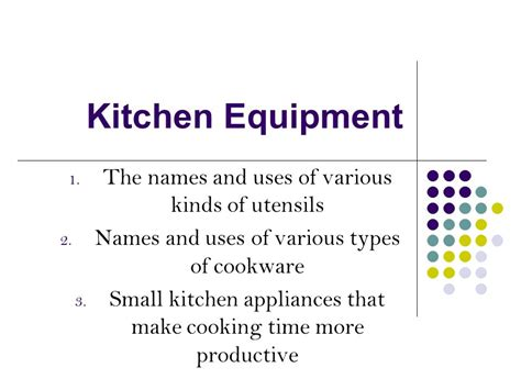 Kitchen Equipment Names And Uses by Kitchen Equipment The Names And Uses Of Various Kinds Of