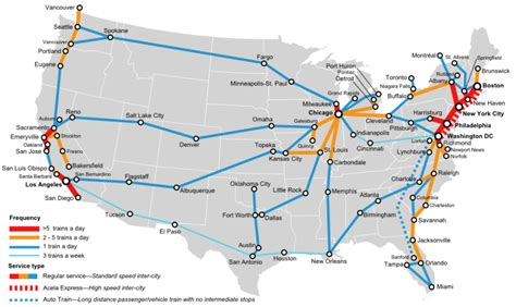 Usa Train Travel With Amtrak