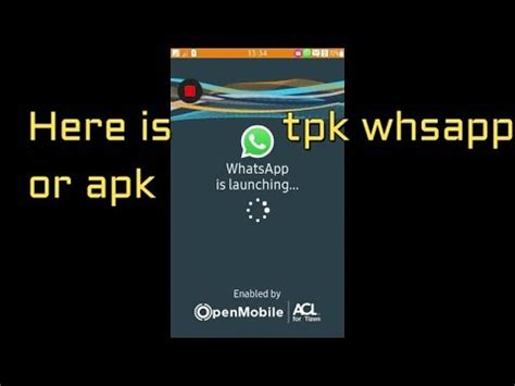 whatsapp tpk in tizen z1 z2 z3 z4