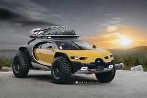 This 4x4 Bugatti Chiron Looks Impressively Attractive