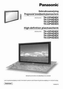 Panasonic Th 42pwd8 Monitor Download Manual For Free Now