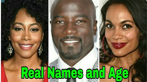 Luke Cage Cast Real Names And Age Season 2 2018 Youtube