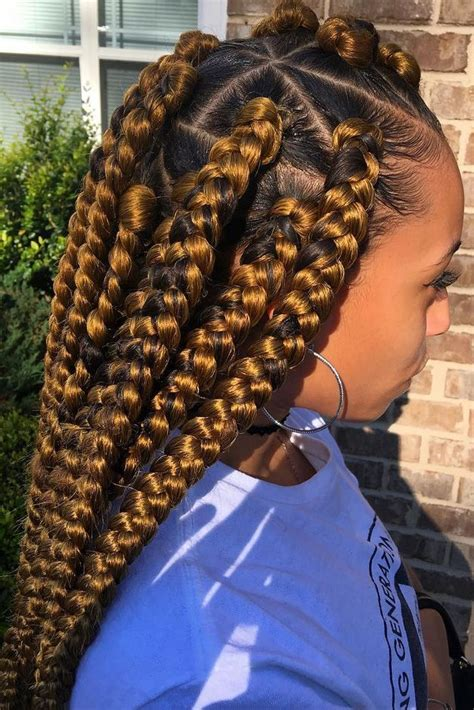 jumbo braids inspiration slayed hair hair styles