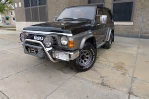 nissan patrol 1990 1990 nissan patrol safari for sale photos technical