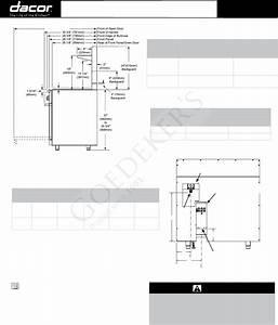 Dacor Range Er48d User Guide