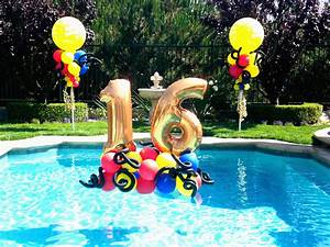 Sweet 16 Pool Party Themes | www.pixshark.com - Images ...