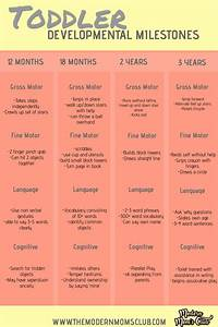 Toddler Developmental Milestones Developmental