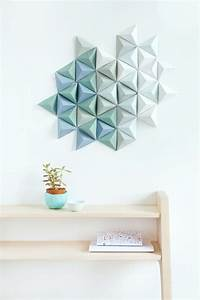 3d Wandgestaltung Selber Machen : wanddekoration selber machen in 16 ideen mit tollem look ~ Sanjose-hotels-ca.com Haus und Dekorationen
