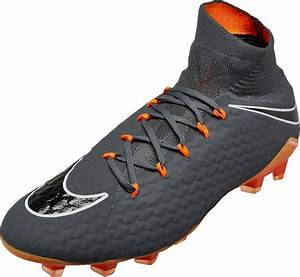 Nike Hypervenom Phantom 3 Pro DF FG - Dark Grey & Total ...  Nike