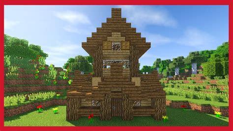 la piccola casa minecraft come fare una piccola casa medievale