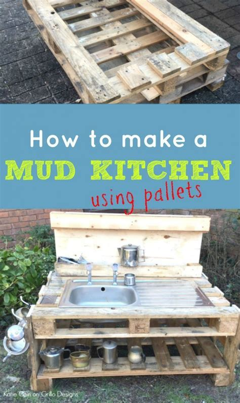 DIY Kids Mud Kitchen ? Grillo Designs