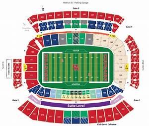 Houston Releases New Football Stadium Seating Chart
