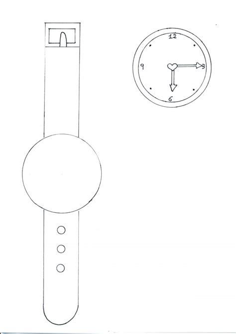 orologio da colorare bimbi  carta
