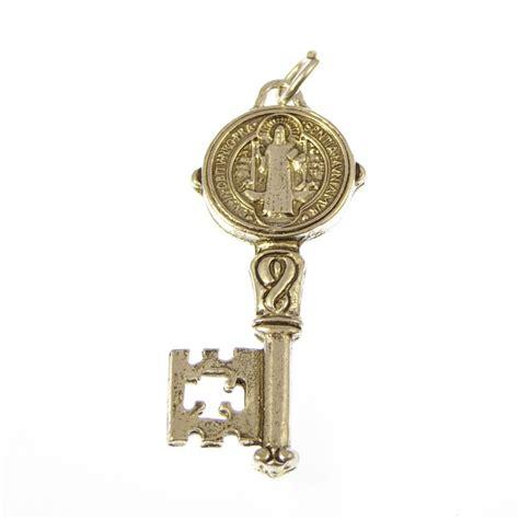 catholic st benedicts key medal