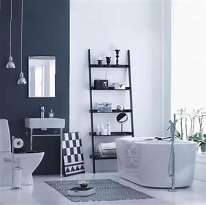 peinture salle de bains pour agrandir l 39 espace restreint