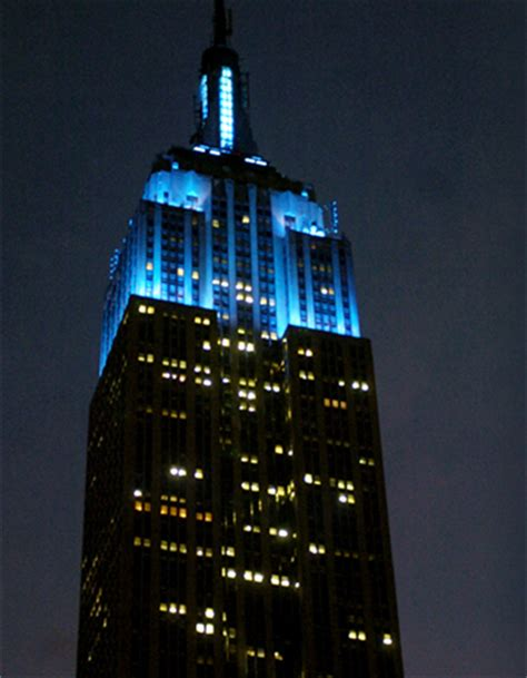 empire state building lights imagine a world without autism