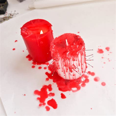 Halloween Taper Candles by Better Housekeeper Blog All Things Cleaning Gardening