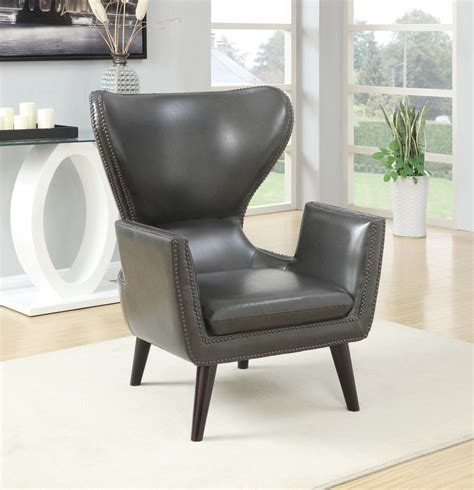 coaster furniture 902409 accent chair charcoal