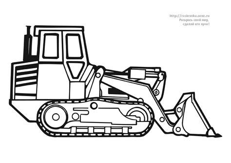 dessins de coloriage tracteur  imprimer