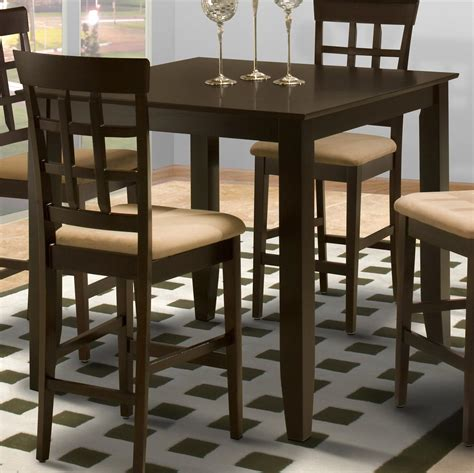 bar height kitchen table new classic style 19 04 1905 012 square counter height