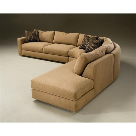 Rounded Corner Sofa by 10 Best Ideas Of Rounded Corner Sectional Sofas