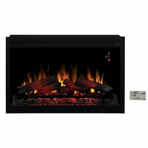 SpectraFire 36 in Traditional Built-in Electric Fireplace