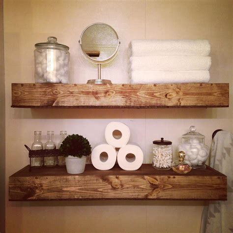 Bathroom Shelves Decor With Elegant Photo In Germany