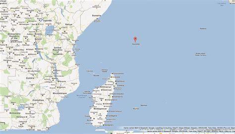 Carte Du Monde Avec Les Seychelles by Seychelles Iles Carte