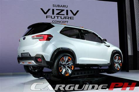 subaru prominence 2020 tokyo motor show 2015 subaru concepts form cornerstone of