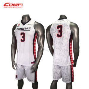 china  cheap custom sublimation basketball jersey