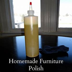 Homemade furniture polish ii for Homemade lemon furniture polish
