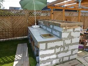 Outdoor Küche Beton : outdoor k che selbst gemacht home design ideen ~ Michelbontemps.com Haus und Dekorationen