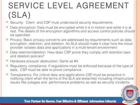 service level agreement template shatterlioninfo