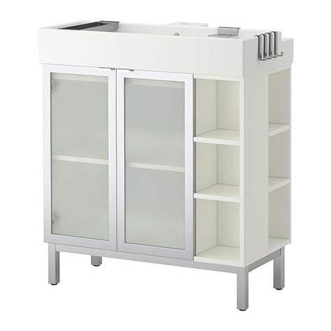 lill 197 ngen sink cabinet 2 doors 2 end units ikea shelf like
