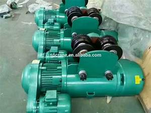 Hebei Wire Rope Motor Pulley Electric Hoist 500kg