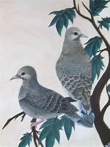Mourning Doves - Audubon style by Linaeve on DeviantArt