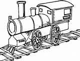 Track Railway Drawing Coloring Clipartmag sketch template