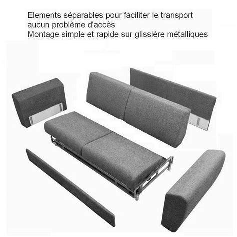 canape demontable canapé démontable canap d montable sur enperdresonlapin