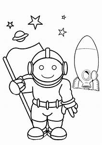 Astronaut Template Preschool (page 2) - Pics about space