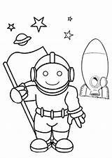 Astronaut Coloring Pages Colouring Space Outline Human Drawing Printable Medical Sheets Camp Activity Astronauts Printables Kid Kidspot Colour Template Preschool sketch template