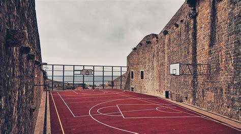 detailed diagram   basketball court sports aspire