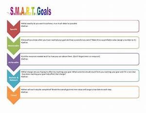 employee smart goals template goal action plan template With goal setting calendar template