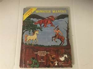 Advanced Dungeons  U0026 Dragons Monster Manual 4th Edition
