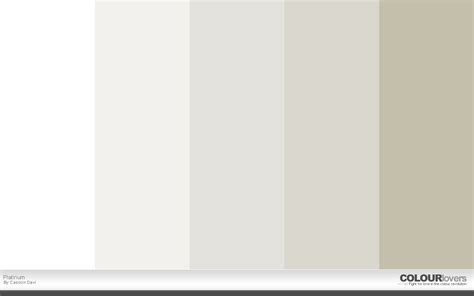 Platinum Color by 20 Metallic Color Palettes To Try This Month April 2016