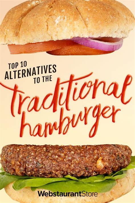 hamburger alternatives traditional webstaurantstore healthy burger