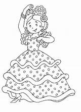Coloring Pages Flamenco Spain Spanish Dance Around Music Dancers Colouring April Little Children Visit Sheet France Popular Enregistree Depuis sketch template