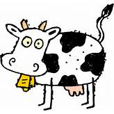 Cartoon Cow Clip Art at Clker.com - vector clip art online, royalty ...