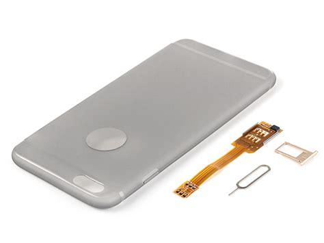 iphone 6 sim dual sim card for iphone 6 plus with back