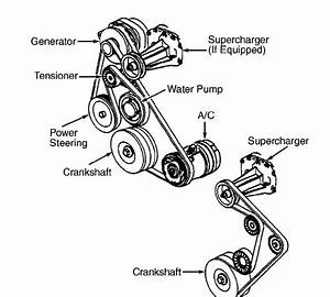 1997 Buick Park Avenue V6 3 8l Serpentine Belt Diagram