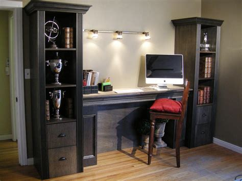 How To Build A Shelving Tower Over A Filing Cabinet Hgtv